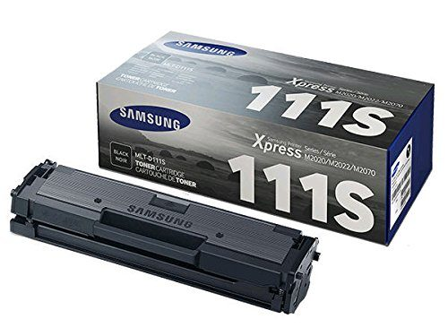 Samsung MLT-D111S Toner For SL-M2020W, SL-M2070W/FW, Black